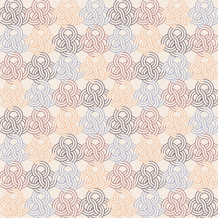 Vintage seamless pattern and background for web and mobile applications in vector