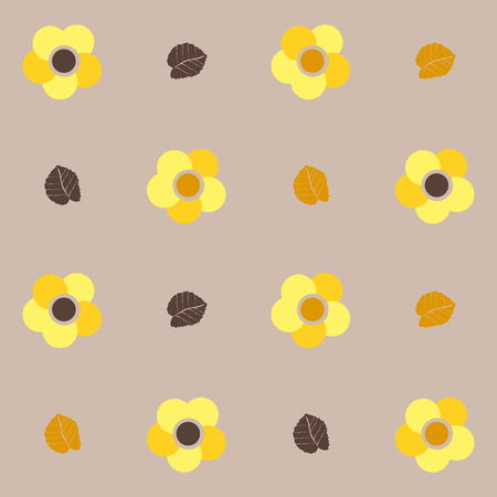 Seamless pattern and background for web and mobile applications in vector Illustration