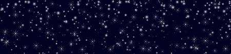 Christmas banner for your text. Winter background with snowflakes. Vector illustration