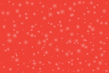 Christmas background for your text. Winter background with snowflakes. Vector illustration
