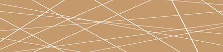 Minimalist geometric background. Banner with Trendy thin line abstract shapes composition. Vector Illustration Ilustração