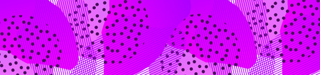 Minimalist geometric background. Banner with Trendy gradient shapes composition. Vector Illustration
