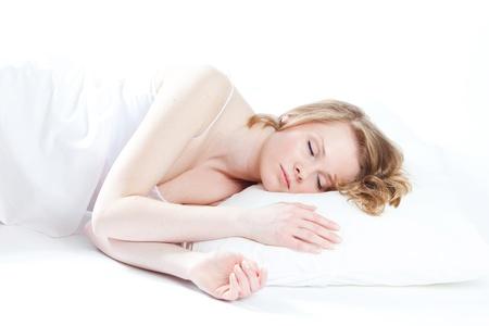 beautiful girl sleeps Stock Photo - 9289492