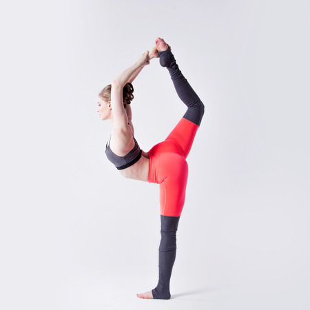 sexual position: yoga poses Stock Photo