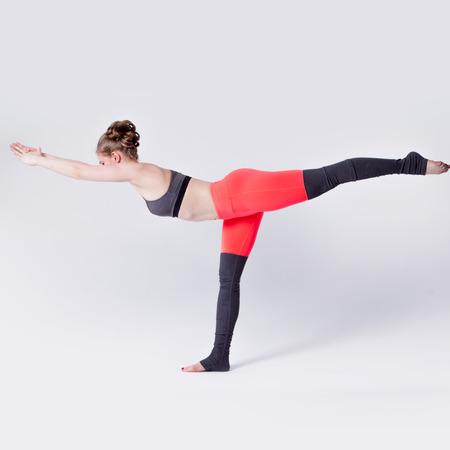 sexual position: Woman balancing while, yoga poses