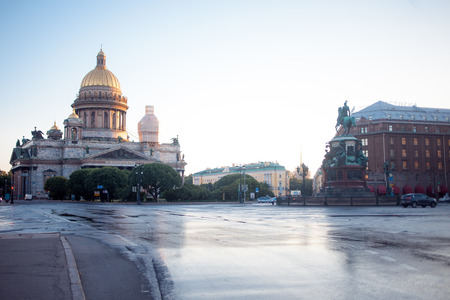 isaac: St. Isaac Cathedral in Saint-Petersburg, Stock Photo