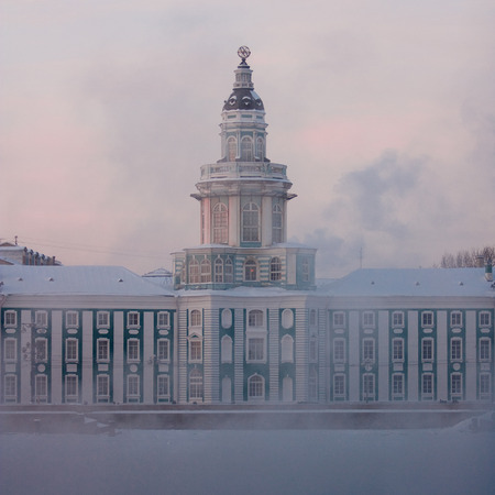 ethnography: Museum of Anthropology and Ethnography. Winter, the frost Editorial