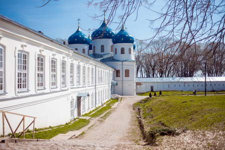 The Cathedral at the monastery, Novgorod the Great
