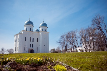 renunciation: The Cathedral at the monastery, Novgorod the Great
