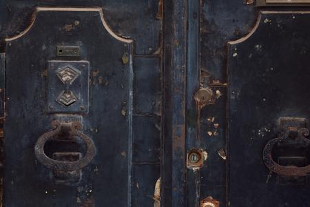 Beautiful door knocker Stock Photo
