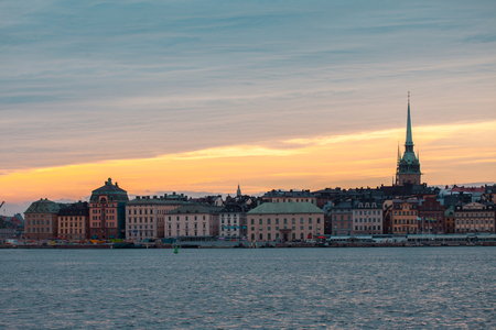 Stockholm. Cityscape image of Stockholm