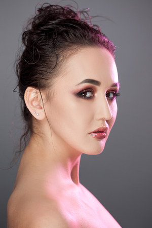 Beauty portrait of young attractive women