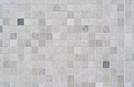 Ceramic tile, seamless texture square light gray card