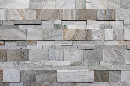 Split modern artificial grey and brown marble wall texture
