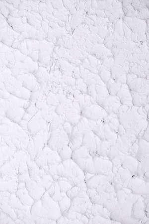 Irish traditional textured white plaster design. Vertical background Stok Fotoğraf