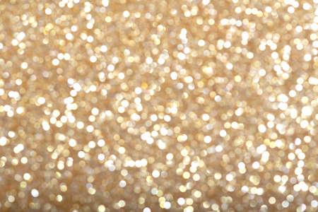 Smooth texture of golden glitter dust surface, luxury background Stockfoto