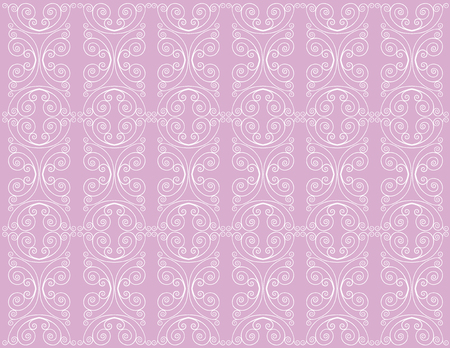 The vector image of an ornamental background.