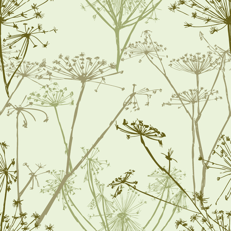 ceo: Vector pattern of the umbrella grass
