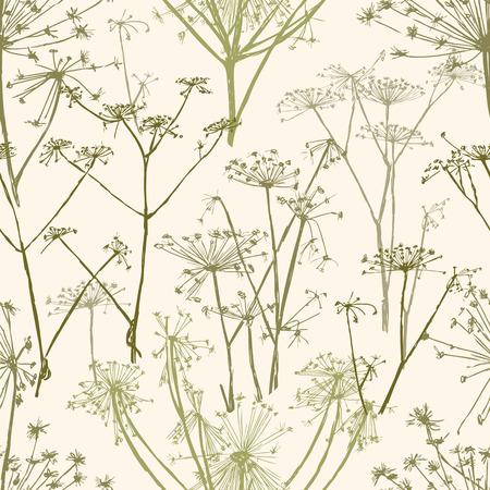 Vector background of the umbrella flowers Stock fotó - 82629508