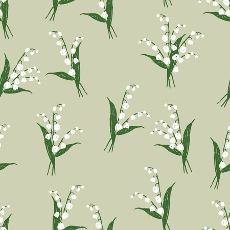 Pattern of the lilies of the valley