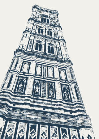 Giotto bell tower in Florence