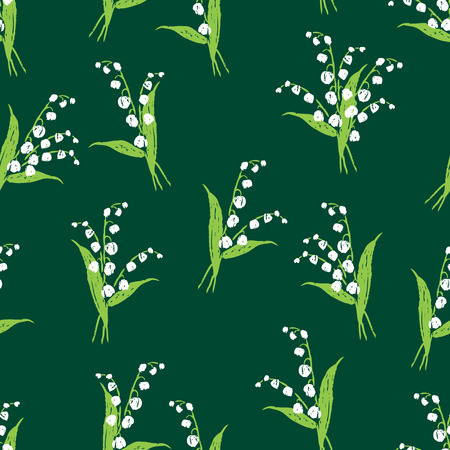 background of the lilies of the valley