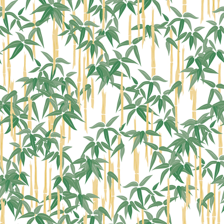 Seamless background of tropical bamboo.