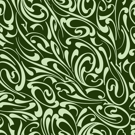 Seamless pattern of ornamental abstract elements 写真素材 - 125197706