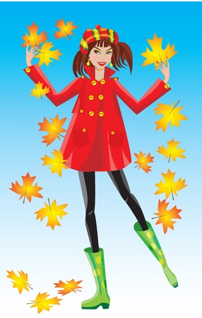fall fashion: autumn girl