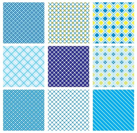 arlecchino: serie di modelli senza soluzione con tessuto controllato textures