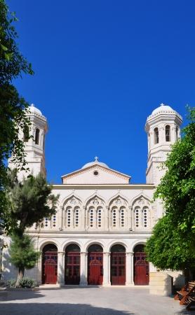 Limassol, Lemesos, Cyprus, Agia napa greek orthodox cathedral  photo