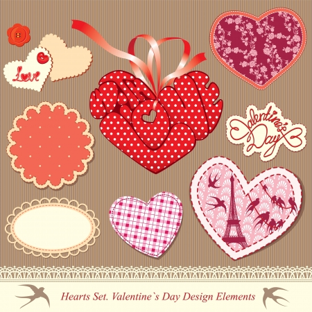 golondrinas: San Valent�n Vectores
