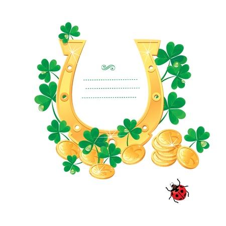 saint paddy's: Frame for Saint Patrick