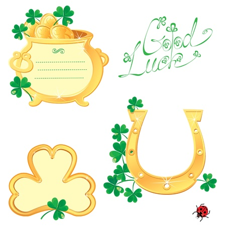 Set of Frames for Saint Patrick Vector