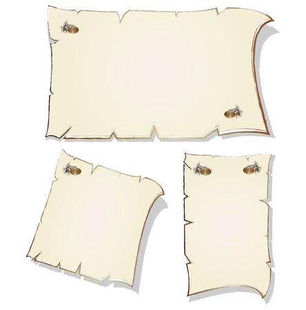 gilt: Set of empty frames with gilt rim