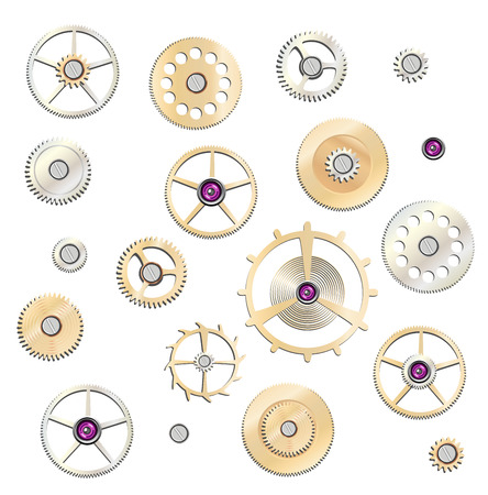 gears: gears set Illustration