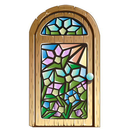stained: Doors with stained glass