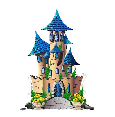 château de conte de fées Vecteurs