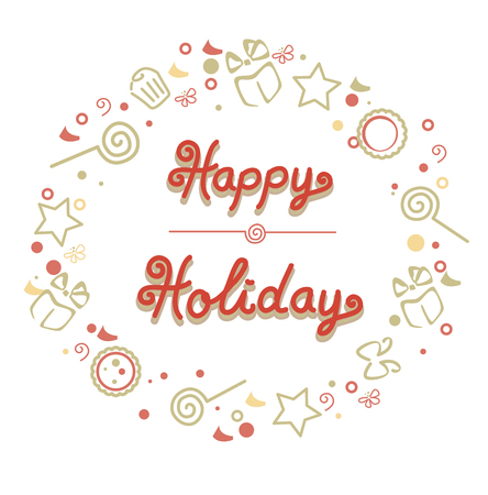 holiday: happy holiday