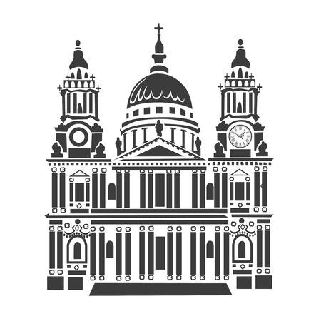 st pauls: St Pauls cathedral Illustration