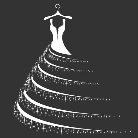 Wedding dress silhouette