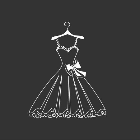 wedded: Beautiful dress silhouette