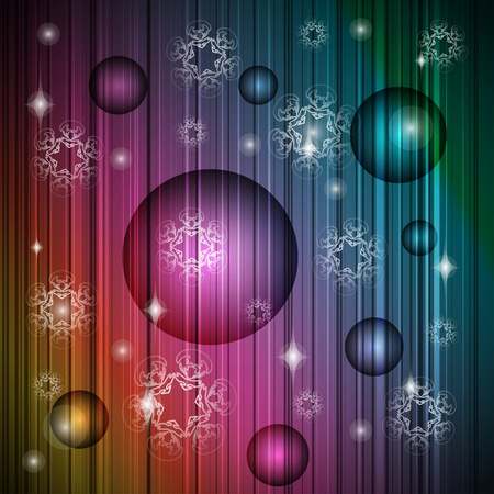 Striped new year christmas  background. Vector illustration eps10 Illustration