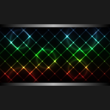 Abstract neon business background. Vector illustration. eps10 Illustration