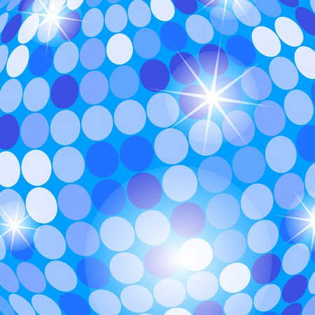 Abstract light blue background with circles.