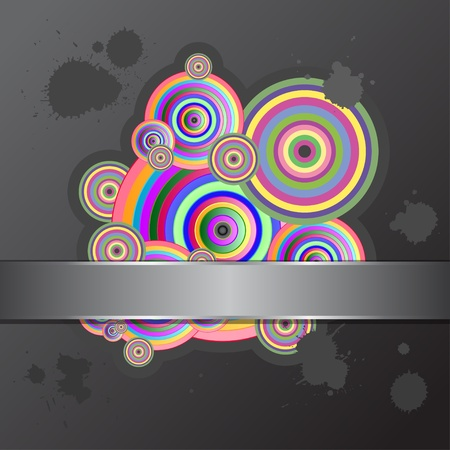 Abstract background with colored circles. Stock Vector - 11658810