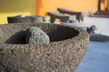 Molcajete, mexican craft