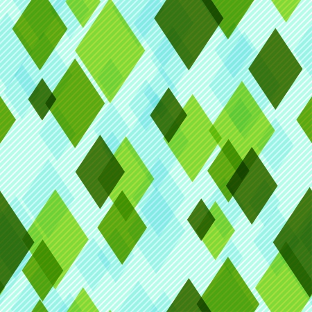 Modern Seamless Pattern with Diamonds. For Textile, Fabric, Backgrounds, etc Vector