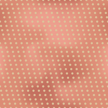 Vintage seamless background with polka dots. Backdrop made from a mesh