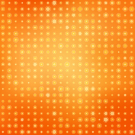 Colorful background with light circles. Vector illustration